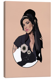 Canvas print  Amy Winehouse - Anna McKay