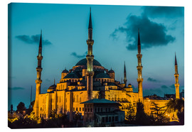 Canvas print  Blue Mosque in Istanbul