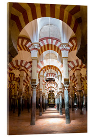 Acrylic print  Great Mosque of Cordoba - La Mezquita