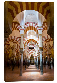 Canvas print  Great Mosque of Cordoba - La Mezquita