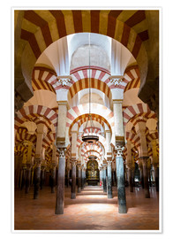 Premium poster  Great Mosque of Cordoba - La Mezquita