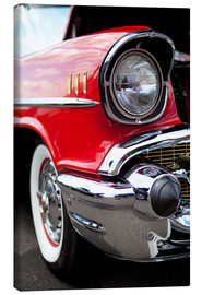 Canvas print  red vintage car