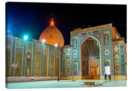 Canvas print  Shah Cheragh, a funerary monument and mosque in Shiraz, Iran