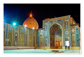 Premium poster  Shah Cheragh, a funerary monument and mosque in Shiraz, Iran