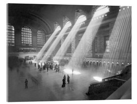 Acrylic glass  Grand Central Railroad Station