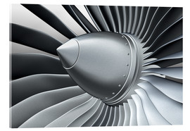 Acrylic print  Detail of a propeller
