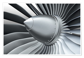 Premium poster  Detail of a propeller