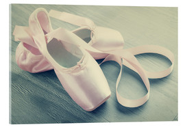 Acrylic print  Ballet Shoes