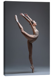 Canvas print  Young and beautiful dancer