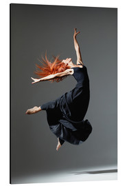 Alu-Dibond  Dancer with red hair
