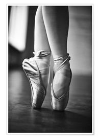 Premium poster  Feet of a dancer