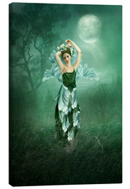 Canvas print  Dreaming under the moon