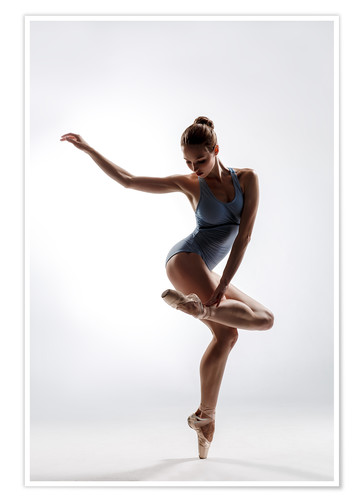 Beautiful Ballet Dancer Posters And Prints Posterlounge Com