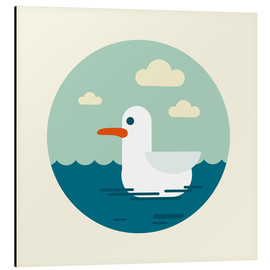 Aluminium print  Gull - Kidz Collection