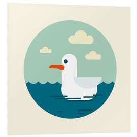 Foam board print  Gull - Kidz Collection