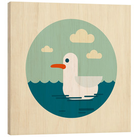 Wood print  Gull - Kidz Collection
