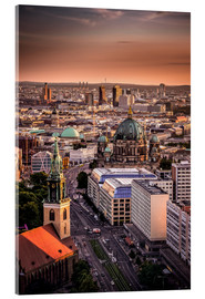 Acrylic print  Berlin Evening Mood - Sören Bartosch