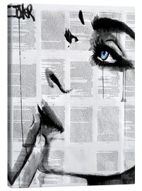 Canvas  Never know - Loui Jover