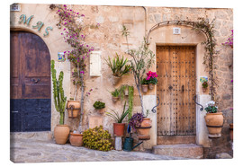Canvas  Old Town in Valldemossa (Mallorca, Spain) - Christian Müringer