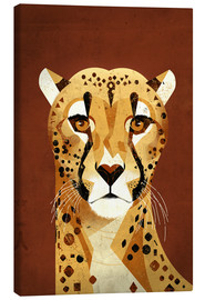 Canvas print  Cheetah - Dieter Braun