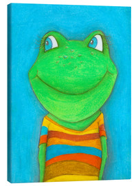 Canvas print  Good mood frog - Atelier BuntePunkt