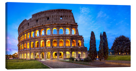 Canvas  Coliseum in Rome Italy - Jan Christopher Becke