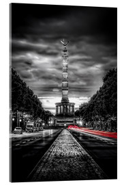 Acrylic print  Victory Column Berlin in the evening - Sören Bartosch
