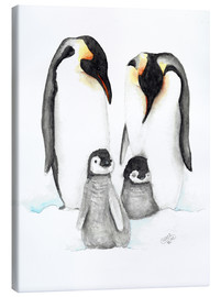 Canvas print  penguins - Nadine Conrad