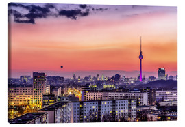 Canvas print  Berlin skyline in summer - Sören Bartosch