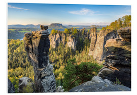 Foam board print  Saxon Switzerland - Michael Valjak