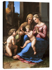 Canvas print  Madonna of Divine Love - Raffael