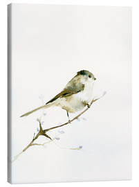 Canvas print  Long-tailed tit - Dearpumpernickel