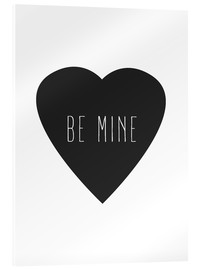 Acrylic print  Be mine - Finlay and Noa