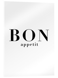 Acrylic glass  Bon Appetit - Finlay and Noa