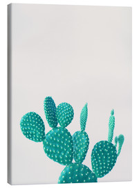 Canvas  Turquoise cactus - Finlay and Noa