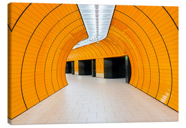 Canvas print  Marienplatz  subway station in Munich - Dieter Meyrl