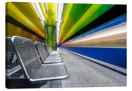 Canvas  Candidplatz subway station in Munich - Dieter Meyrl