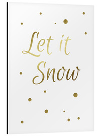 Aluminium print  Let it Snow - Finlay and Noa