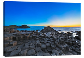 Canvas print  Giants Causeway - Dieter Meyrl