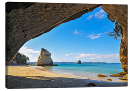 Canvas print  Cathedral Cove - Denis Feiner