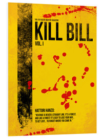 Foam board print  Kill Bill Vol. I - HDMI2K