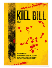Premium poster Kill Bill Vol. I