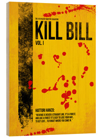 Wood print  Kill Bill Vol. I - HDMI2K