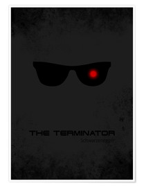Premium poster Terminator - Minimal Film Movie Fanart Alternative
