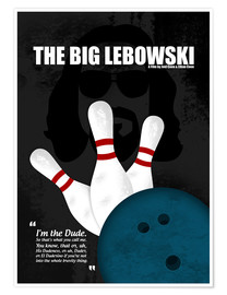 Premium poster  The Big Lebowski - HDMI2K