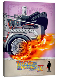 Canvas print  Back to the Future III - HDMI2K