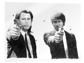 Acrylic print  Pulp Fiction - Cultscenes