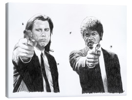 Canvas print  Pulp Fiction - Cultscenes