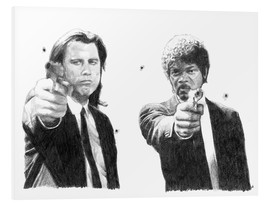 Foam board print  Pulp Fiction - Cultscenes