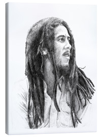 Canvas  BOB MARLEY alternative fan art - Cultscenes